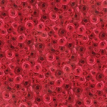 Count the Ways 12x12 Paper- Red Roses