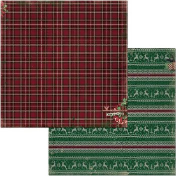 Christmas Treasures 12x12 Paper- Sweater