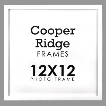 """Cooper Ridge 12x12"""" Frame- White"""