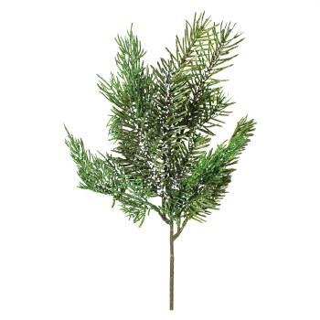 """16"""" Iced Cedar Pine Spray"""
