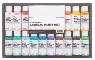 Darice 2oz Acrylic Paint Set, 20pk- Matte