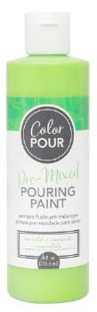 Color Pour Pre-Mixed Pouring Paint, 16oz- Emerald