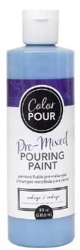 Color Pour Pre-Mixed Pouring Paint, 16oz- Indigo