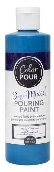 Color Pour Pre-Mixed Pouring Paint, 16oz- Navy