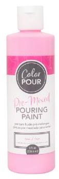 Color Pour Pre-Mixed Pouring Paint, 16oz- Rose