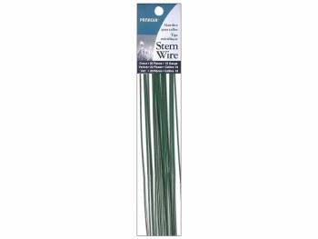 Stem Wire 18- Gauge - Green