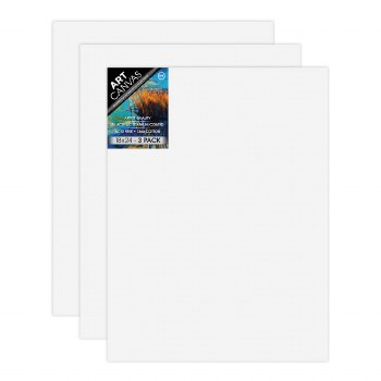 "18""x24"" Artist Stretched Canvas - Triple Pack"