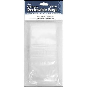"Reclosable Bags, 2""x1.5"""