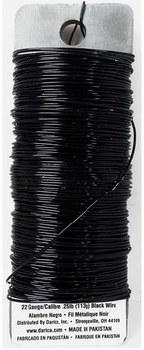 Wire, 22 Gauge- Black