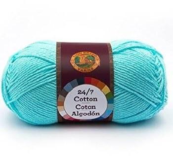 24/7 Cotton Yarn- Aqua