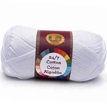 24/7 Cotton Yarn- White
