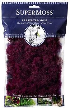 SuperMoss Reindeer Moss, 2oz- Wine