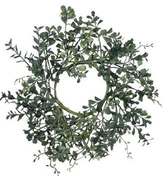 """Blue Boxwood Wreath- 14"""""""