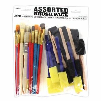 Brush Assotment Pack, 40ct