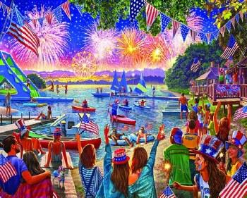 Fireworks - 1,000 Piece Puzzle
