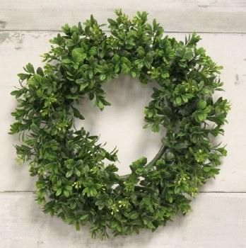 "Boxwood Wreath- 13"""