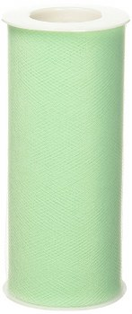 """6"""" Tulle Roll, 25 yards- Mint"""