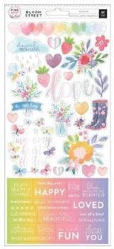 Bloom Street Stickers- Sticker Sheet
