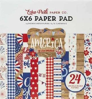 America 6x6 Paper Pad