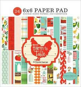 Farm to Table 6x6 Paper Pad