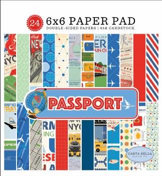 Passport 6x6 Paper Pad