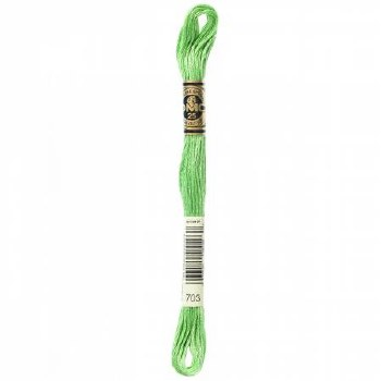 703 DMC Embroidery Floss - Chartreuse