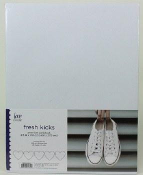 "8.5x11"" Cardstock Pack, 50pc- Fresh Kicks"