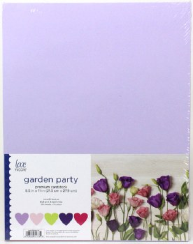 "8.5x11"" Cardstock Pack, 50pc- Garden Party"