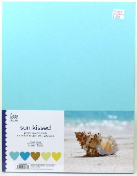 "8.5x11"" Cardstock Pack, 50pc- Sunkissed"
