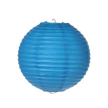 """Round 8"""" Paper Lantern, 1pc- Blue"""