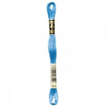 813 DMC Embroidery Floss - Light Blue