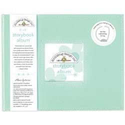 Doodlebug 8x8 Storybook 2-Ring Album- Mint