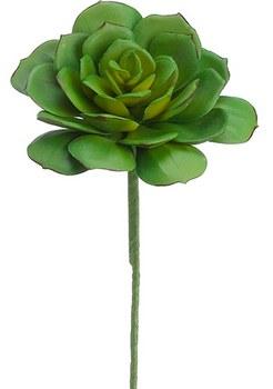 """Echeveria Pick, 9.5""""- Green/Gray"""