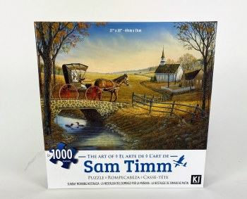 Sunday Moring Nostalgia - 1,000 Piece Puzzle
