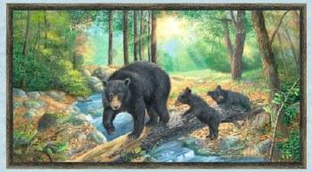 Nature & Wildlife Fabric Panel- A New Adventure
