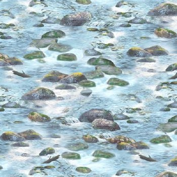 A New Adventure Bolted Fabric- River Rocks