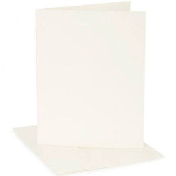 Core'dinations A2 Cards & Envelopes Pack, 12ct- Ivory