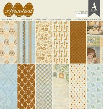 Abundant 12x12 Paper Pad