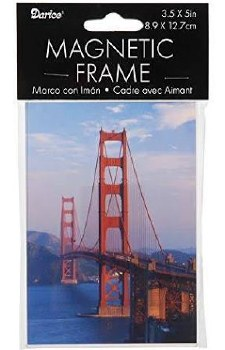 """Clear Acrylic Magnetic Frame, 3.5x5"""""""