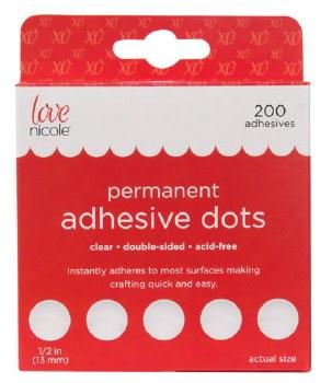 """Adhesive Dots 200ct- 1/2"""""""