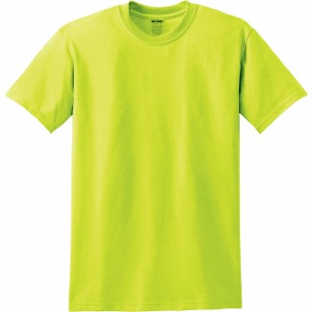 Adult T-Shirt- Safety Green, Small