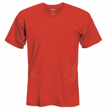 Adult T-Shirt- Red, Small