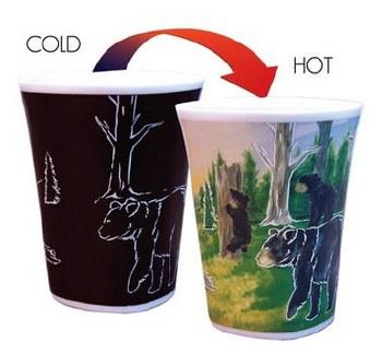 Color Changing Story Mug- Black Bear