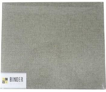 DCWV 12x12 D Ring Album- Grey Burlap