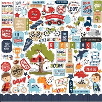 All Boy Sticker Sheet