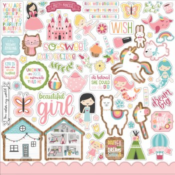 All Girl Sticker Sheet