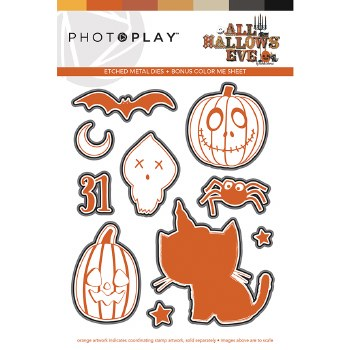 All Hallows Eve Stamp Dies