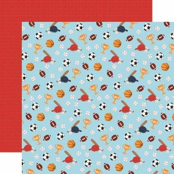 All Boy 12x12 Paper- All Star