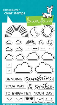 All The Clouds Stamps