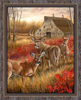 Nature & Wildlife Fabric Panel- Amongst the Shadows